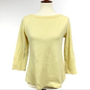 Westbound Yellow 100% Cotton Blouse